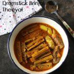Drumstick Brinjal Gravy / Murungaikai Kathirikai Theeyal