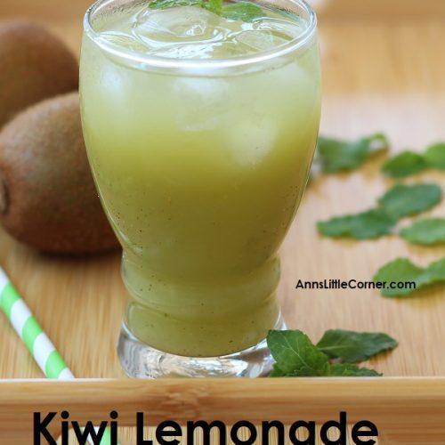 Mint Kiwi Lemonade / Mint Kiwi Juice