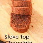 StoveTop Chocolate Cake