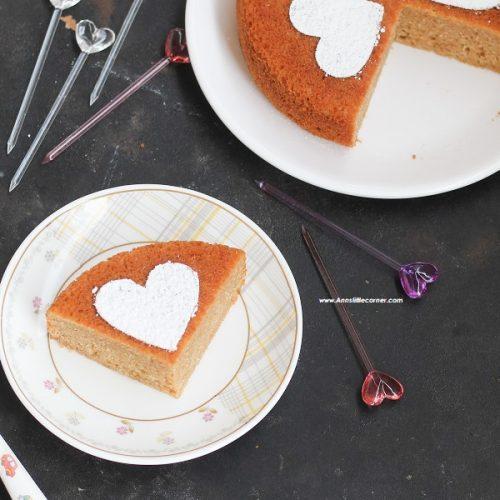 Eggless Stovetop Sponge Cake / Tea Cake