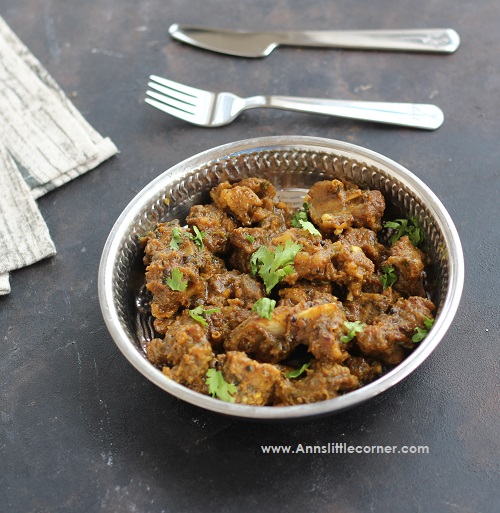 Pepper Mutton Masala