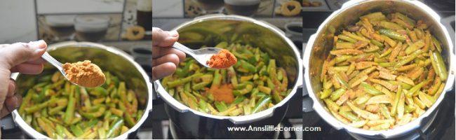 Ivy Gourd stir Fry / Tindora Stir Fry