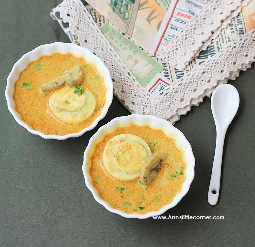 Mushroom Egg Stew