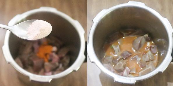 Cabbage Mutton LiverMasalastep