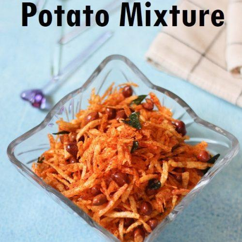 Potato Chivda / Potato Mixture