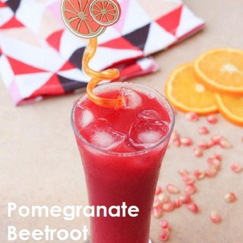 Pomegranate Beetroot Orange Juice
