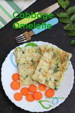 Cabbage Omelette