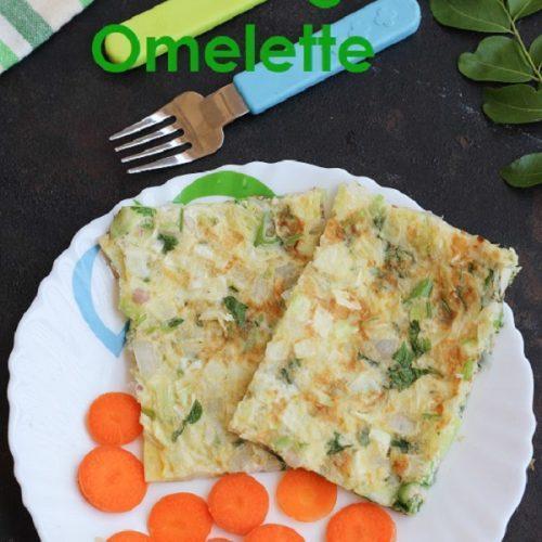 Cabbage Omelette / MuttaiKose Omelette