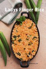 Ladys Finger Rice