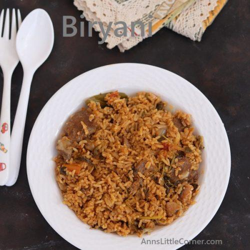 Home Style Mutton Dum Biryani