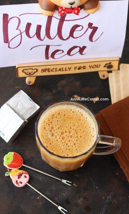 Keto Butter Tea
