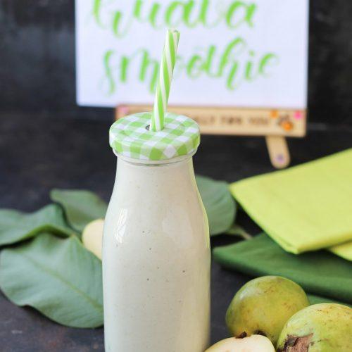 Paleo Guava Aloe Vera Smoothie